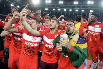 Московский «Спартак» выиграл чемпионский титул спустя 16 лет