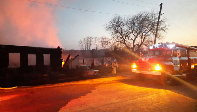 В результате пожара в Свердловской области погибли пять детей