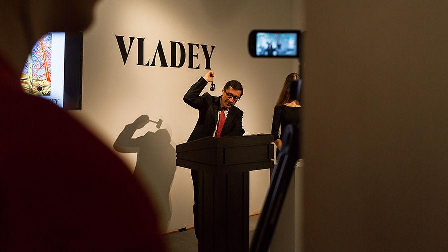 Владимир Овчаренко на торгах Осеннего аукциона VLADEY 2016