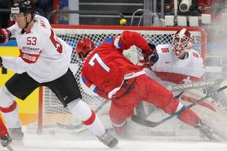 Швейцария и Россия играют в рамках Еврочелленджа два дня подряд