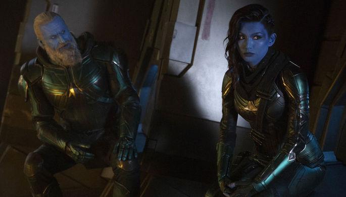 Кадр из фильма «Капитан Марвел » (2019)