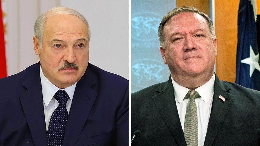 Помпео призвал Лукашенко выпустить из Белоруссии гражданина США Шклярова