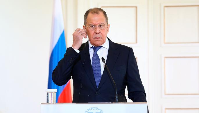 «Это неприемлемо»: Лавров о запрете Путину посещать Олимпиады