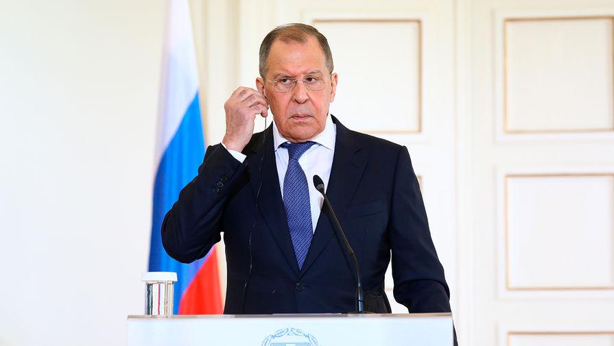Лавров: Россия пока не начала процесс выхода из ДОН