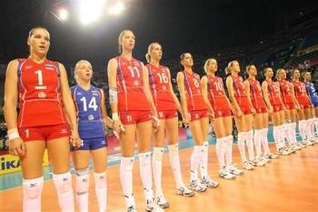 Российские волейболистки во всей красе