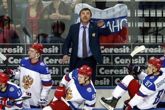 Олег Знарок руководит командой.