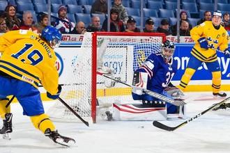 Полуфинал Швеция — США