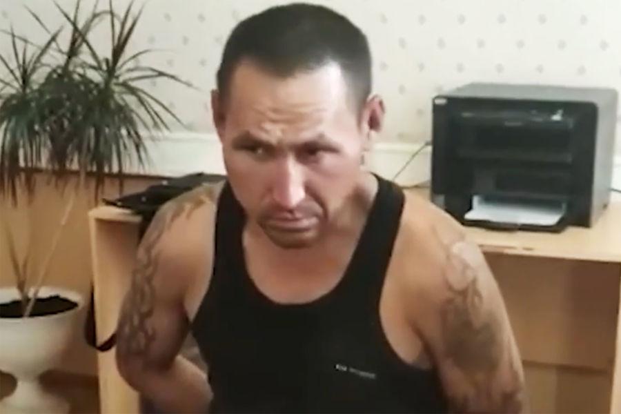 Федор Панов во время допроса, 5 августа 2021 года