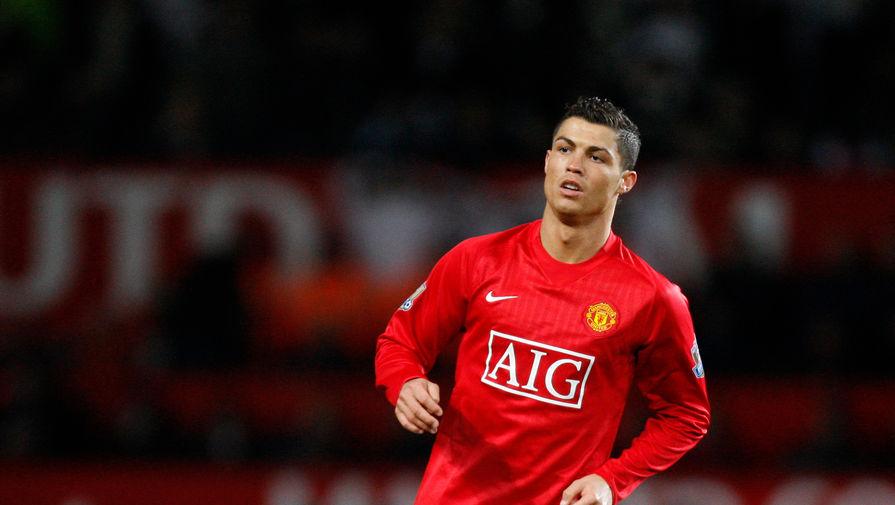 Криштиану Роналду прилетел в Манчестер
