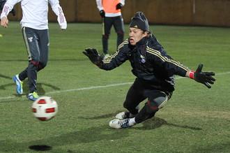 Молодежная сборная России готовится к матчу с албанцами
