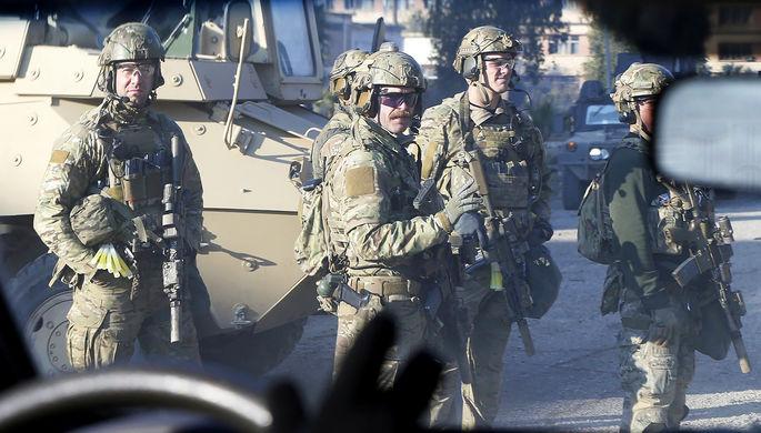 Военнослужащие армии США в Мосуле, Ирак