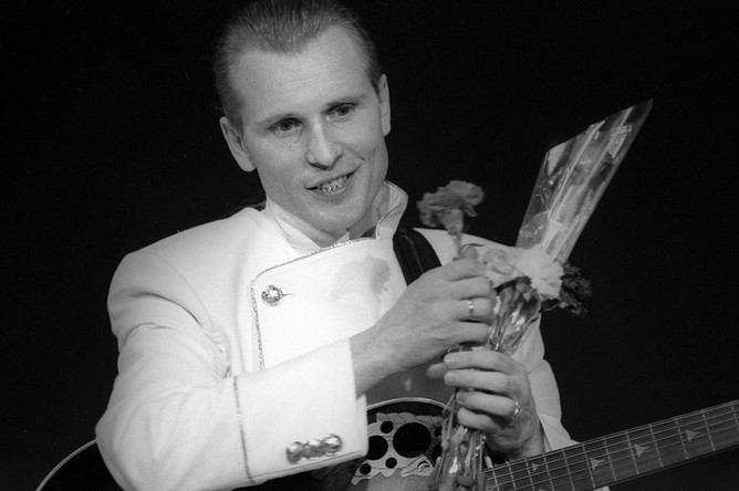 Певец Александр Малинин, 1991 год