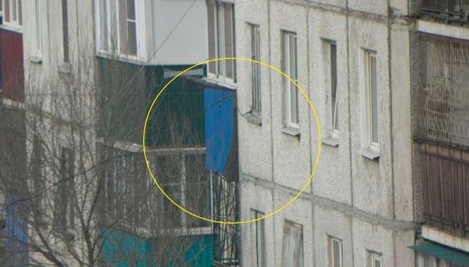 Случайно вышло: Ми-8 нанес удар по жилому дому в Чите