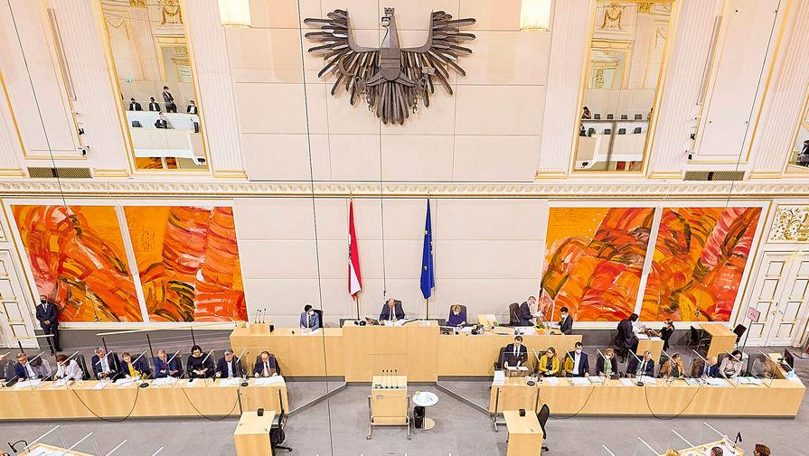 Австрийский депутат потеряла сознание на заседании парламента