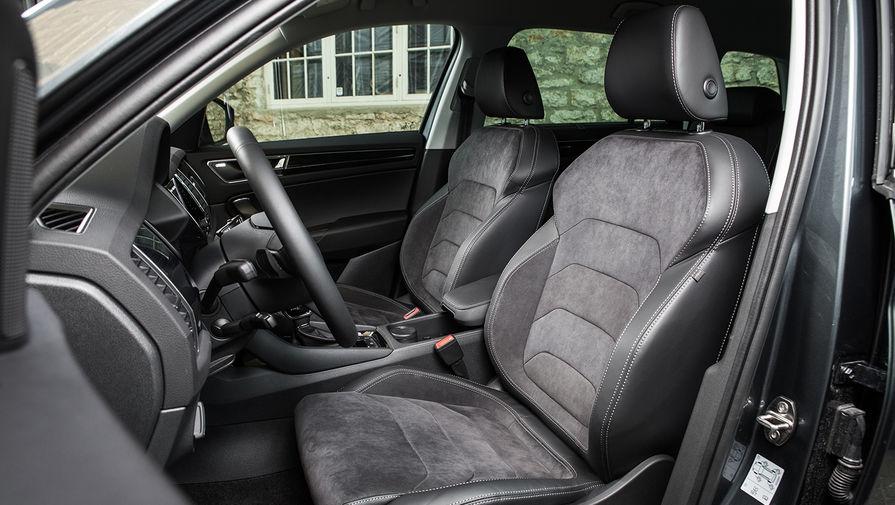 В базовой комплектации используется тканевая обивка сидений. В качестве альтернативы предлагается...