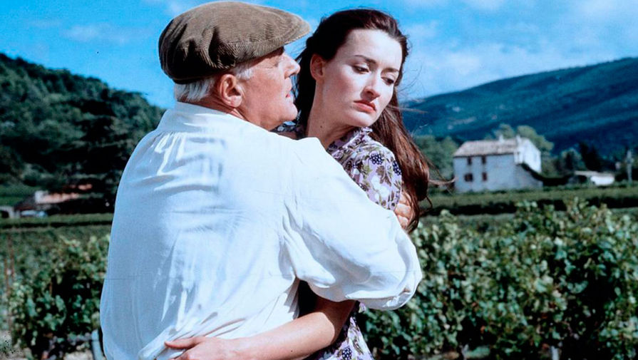 Энтони Хопкинс и Наташа МакЭлхоун в картине «Прожить жизнь с Пикассо» (1996)