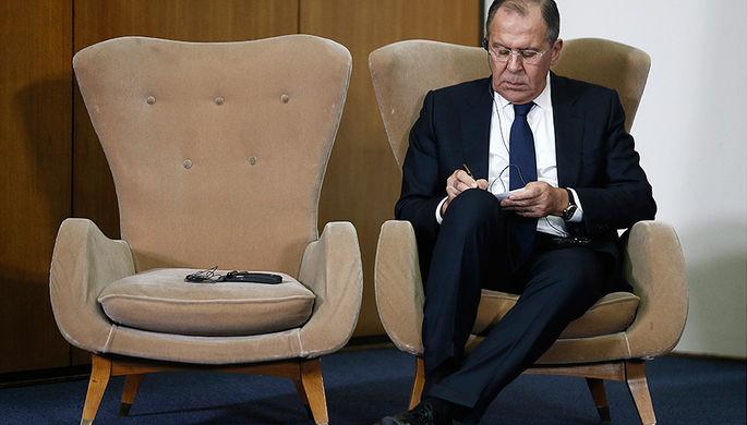 Министр иностранных дел Сергей Лавров
