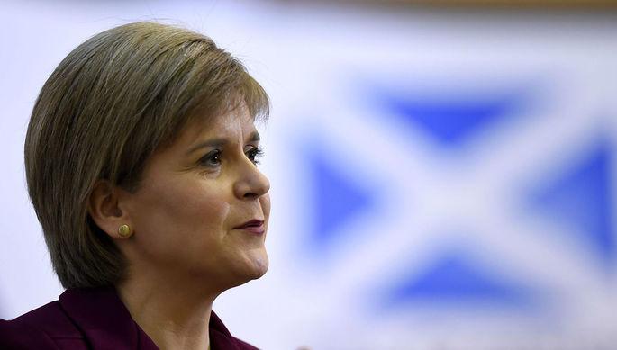 Первый министр Шотландии, лидер Шотландской национальной партии Никола Стерджен