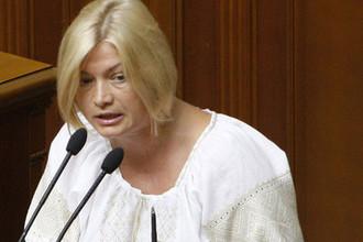 Представитель Украины Ирина Геращенко