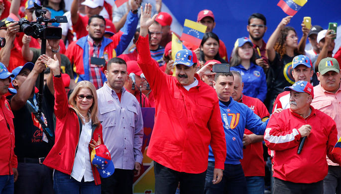 Мадуро: Венесуэла сама решит свои проблемы