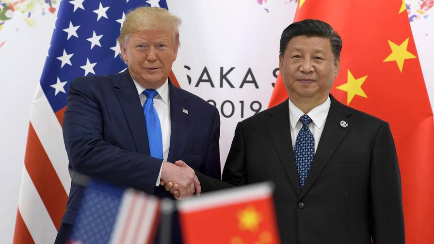 Дональд Трамп и Си Цзиньпин договорились сотрудничать в борьбе с коронавирусом