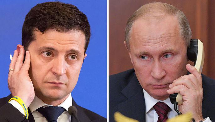 Путин поговорил с Зеленским: Москва и Киев готовы к саммиту