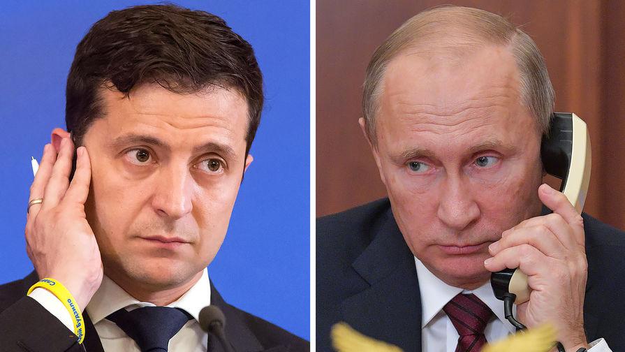 Зеленский ответил Путину на указ о гражданстве России для всех жителей Донбасса