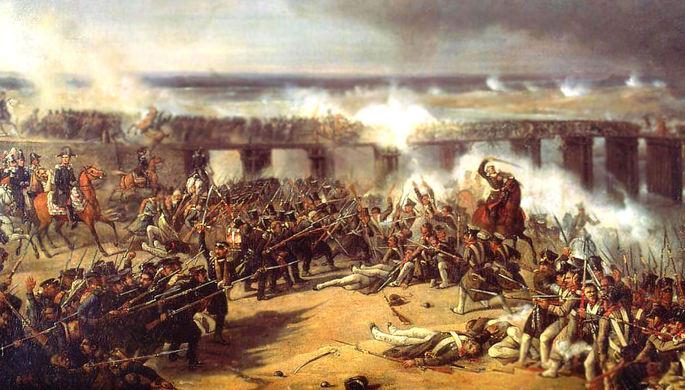 К. Маланкевич. «Сражение под Остроленкой» (1838)