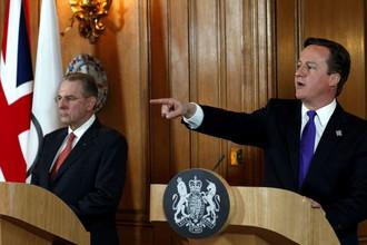 Жак Рогге (слева) и Дэвид Кэмерон обошлись без споров