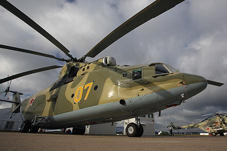 Российский тяжелый вертолет Ми-26Т2
