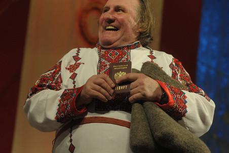 Жерар Депардье обрел российский паспорт - Газета.Ru | Фото