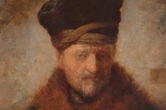 Фрагмент полотна Рембрандта «Портрет отца»
