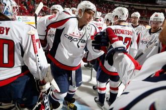 В споре двух «российских» команд НХЛ «Вашингтон» на выезде оказался сильнее «Каролины»