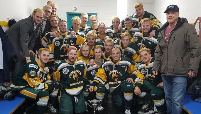 Хоккейная команда погибла по пути на матч