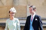 Пиппа Миддлтон и Джеймс Миддлтон насвадьбе принца Гарри и Меган Маркл вВиндзоре, 19 мая 2018 года