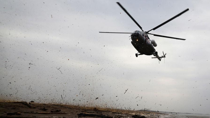 Потери ВКС: в Подмосковье разбился военный вертолет Ми-8