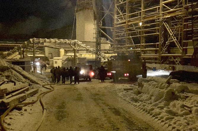 Спасательные работы в шахте «Уралкалия» в Соликамске, 22 декабря 2018 года