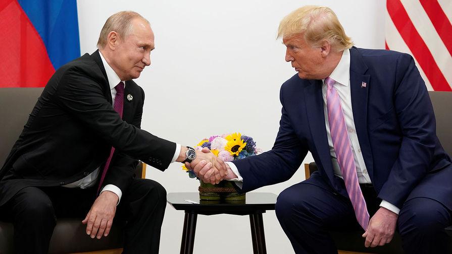 Что обсудили Путин и Трамп