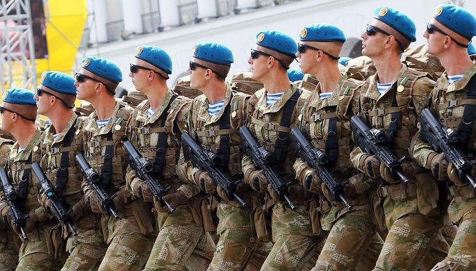 «Готовимся к войне»: Киев вспомнил о «российском вторжении»