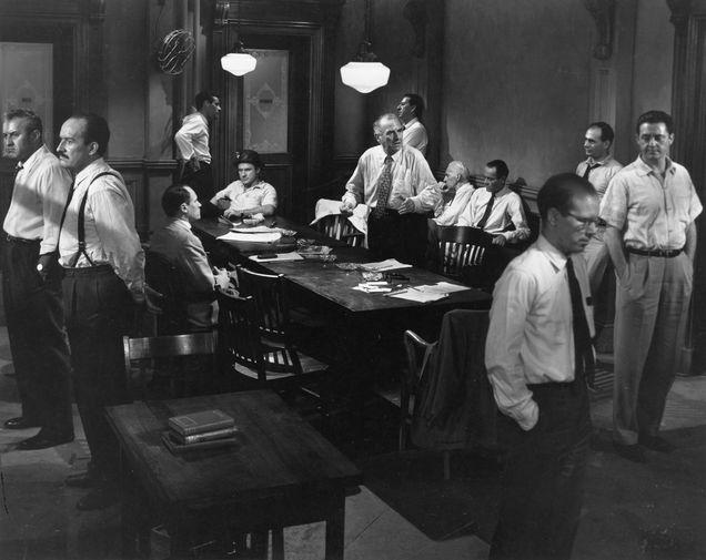 «Двенадцать разгневанных мужчин» (1957)