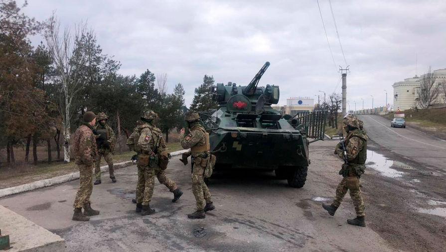 СБУ начала антитеррористические учения на границе с Крымом