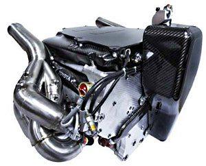 8-цилиндровый двигатель V8 объёмом 2,4 литра