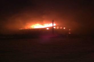 В подмосковном селе Титовское в доме священника вспыхнул пожар