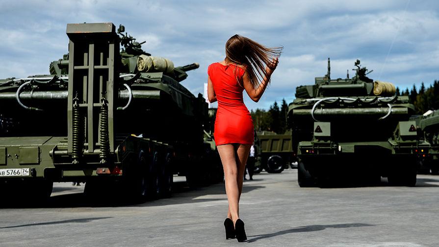 армия 2016 выставка фото
