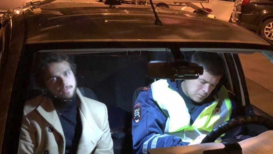 """""""Угрожал связями"""": полиция поймала пьяных футболистов за рулем"""
