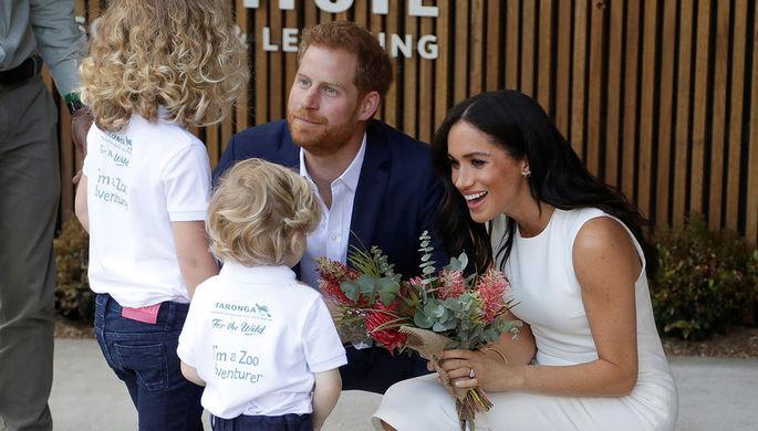 Принц Гарри рассказал о желаемом поле будущего ребенка