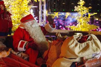Празднование Рождества Хельсинки, Финляндия, 24 декабря 2018 года