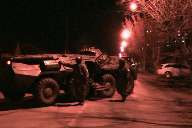 Контртеррористическая операция в Тюмени, 12 апреля 2019 года