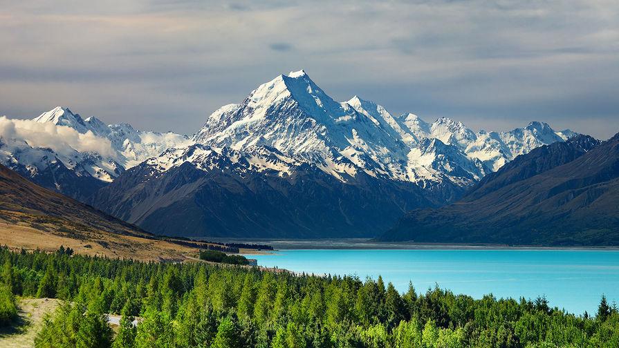 У Новой Зеландии зафиксировано землетрясение магнитудой 5,8
