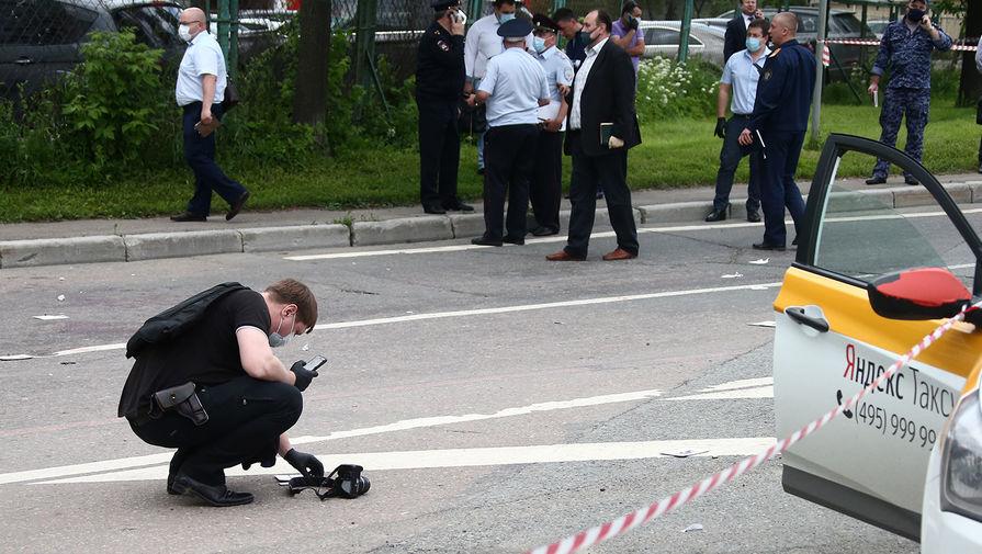 Ситуация на месте стрельбы на Ленинском проспекте в Москве, 15 июня 2020 года